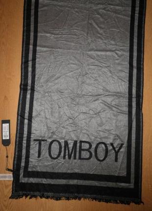 Шикарный теплый мягкий легкий шарф вискоза only tomboy 180х60см качество