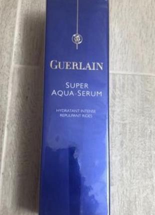 Сыворотка guerlain super aqua serum 30 мл.