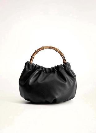 Mango новая стильная женская сумка в руках или через плечо от манго