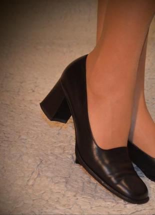Туфли кожаные, peter kazer