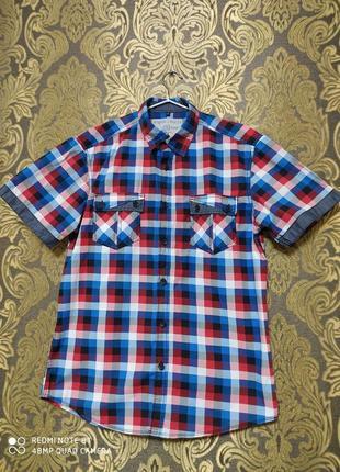 Angelo litrico c&a германия мужская рубашка м