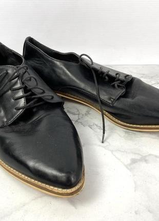 Туфли стильные forever 21, черные2 фото