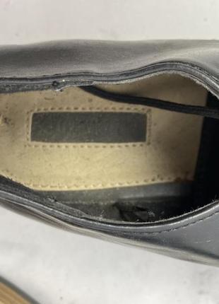 Туфли стильные forever 21, черные5 фото