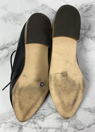 Туфли стильные forever 21, черные7 фото