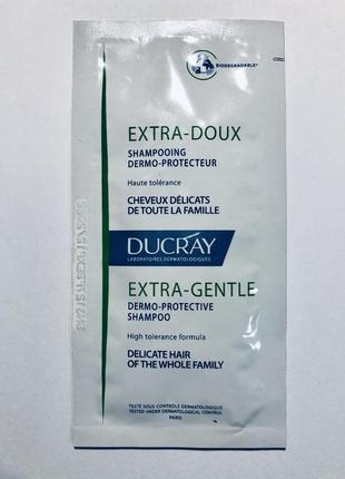 Пробник шампуня ducray extra-doux 10ml