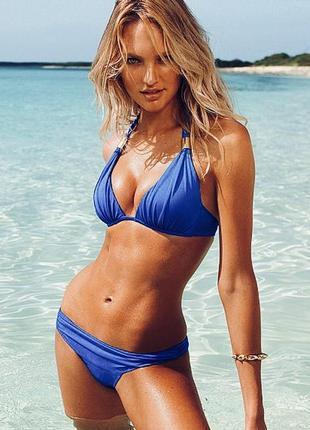 Victoria's secret swimsuit hottie halter bikini shimmer оригинал купальник