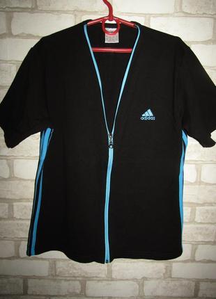 Футболка кофточка р-р 14-16 бренд adidas