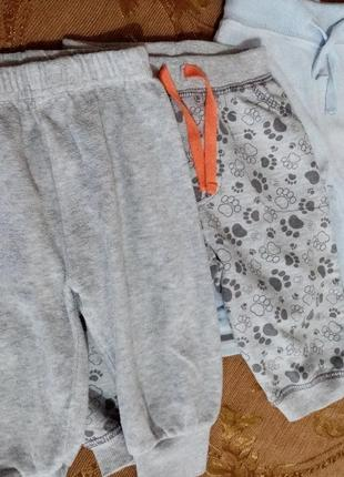 Набор штанишек, шортики.