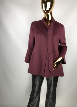 Пальто/пончо красивейшего цвета от stefanel италия