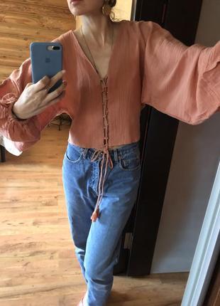 Чудесная блуза в бохо стиле асос asos, стиль max mara, zimmerman, винтаж
