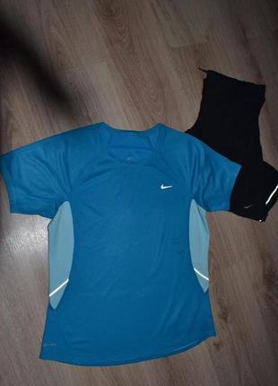 Футболка спорт nike dry-fit р.m