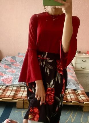 Супер платье с блузкой