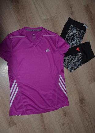Футболка спорт adidas р.s сост идеал дл 62-64..пог45..