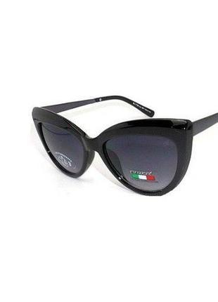 Солнцезащитные очки bialucci бабочка женские черные