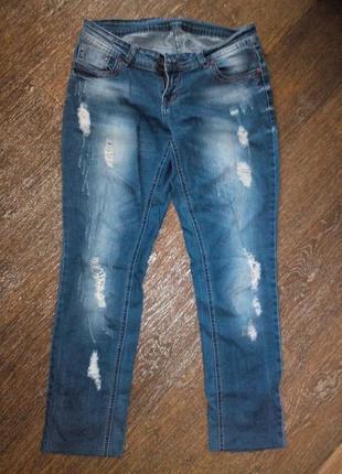 Рваные джинсы на лето