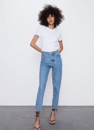 Крутые джинсы zara mom fit 💞новая коллекция