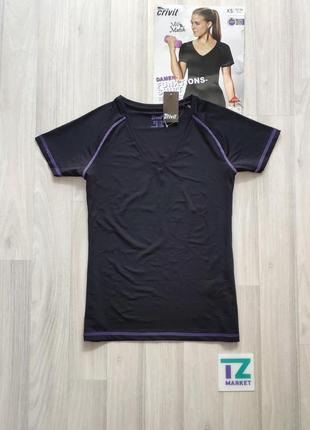 Жіноча футболка для спорту женская спортивная футболка