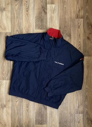 Курточка на флисе tommy hilfiger vintage
