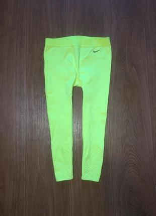 Спортивные лосины, леггинсы, капри nike pro elite hypercool,р-р s-m. не ношены