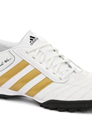 Adidas nova   кроссовки  футбольные бутсы футсзалки сороконожки кожаные!