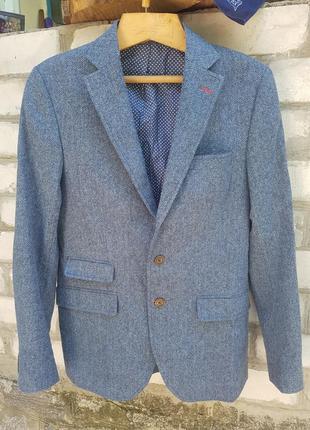 Суперстильный шерстяной пиджак el ganso