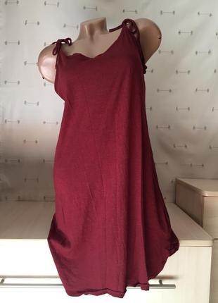Милый сарафан короткий на бретельках / платье