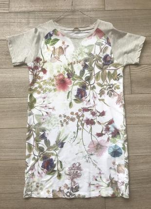 Платье-футболка house