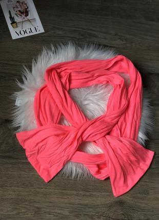 Неоновий шарф