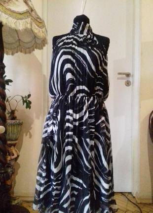 Платье натуральный шелк.
