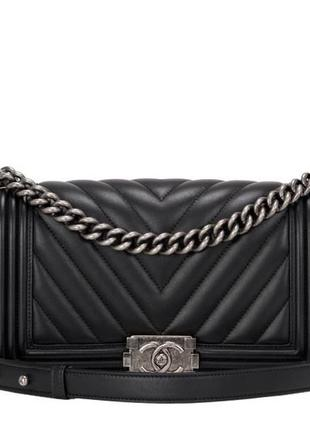 Легендарная сумка chanel le boy