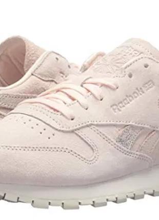 Кожаные кроссовки reebok shimmer 40р. оригинал.