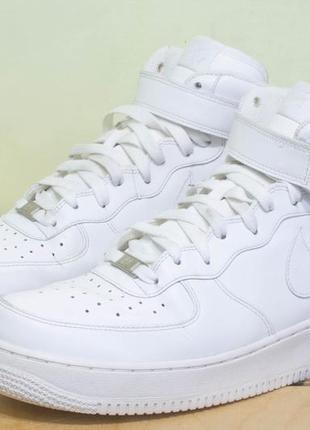 Nike air force 1 mid 07 р 46 - 30 см кроссовки  мужские состояние отличное