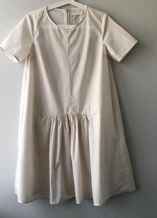 Платье со сборкой cos