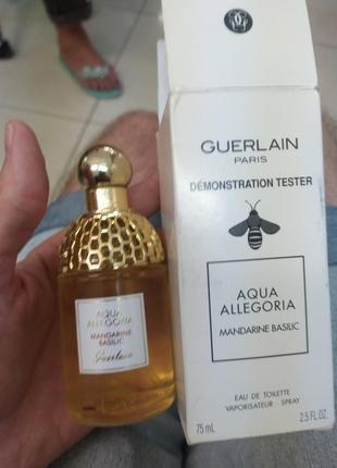 Aqua allegoria mandarine-basilic туалетная вода