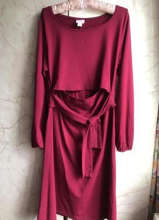 Шикарное платье для беременных! натуральная ткань