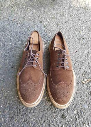 Туфли, инспектора, оксфорды ortigni brunello cucinelli, 44 размер