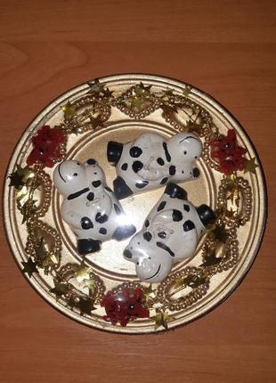 Декоративная тарелка с свечами