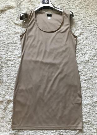 Базовое платье h&m рр м
