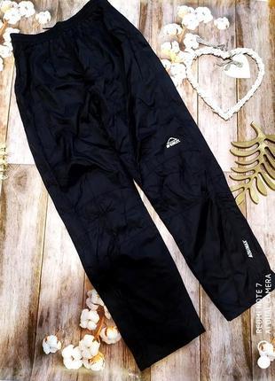 Качественные мужские непромокаемые брюки дождевик mckinley aquamax.