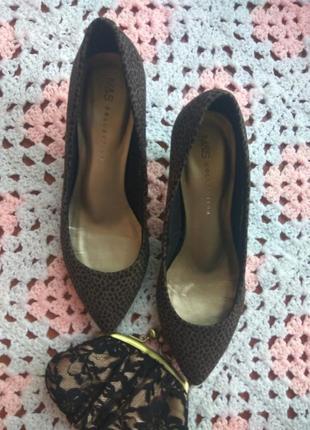 Новые женские туфли лодочки m&s