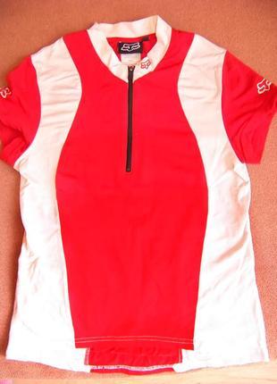 Эластичная футболка для занятий спортом foxracing 8-10 лет