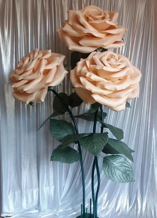 Торшер-светильник букет роз.