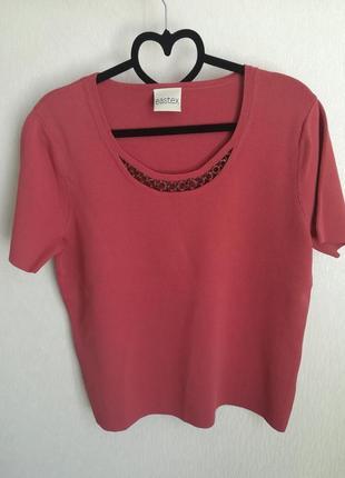 Блуза цвета пыльной розы eastex