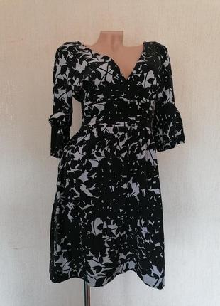 Красивое шёлковое платье