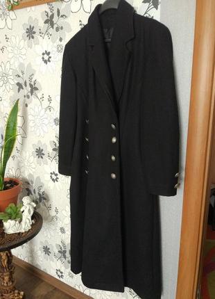 Пальто длинное кашемир