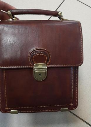 Классическая мужкая сумка  tony perotti