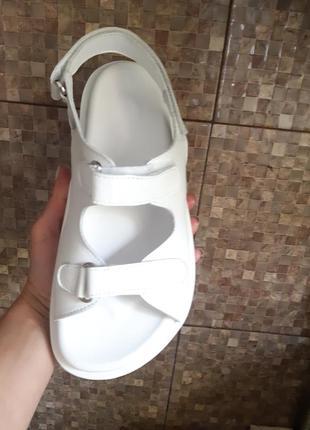 Распродажа сандалии . хит  лета , кожаные сандалии,36-41р2 фото