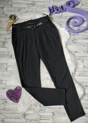 Брюки штаны vangeliza женские серые шерсть