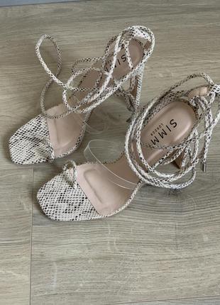 Босоножки simmy shoes 38 рр