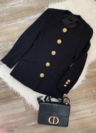 Шикарный шерстяной пиджак/жакет в стиле christian dior /chanel
